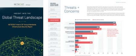 NETSCOUT Arbor's 13 th Annual Worldwide Infrastructure Security Report