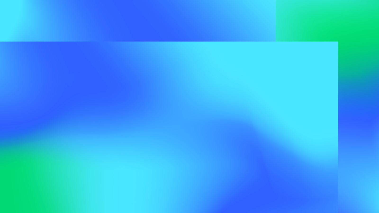 Abstract blue and teal splotchy background