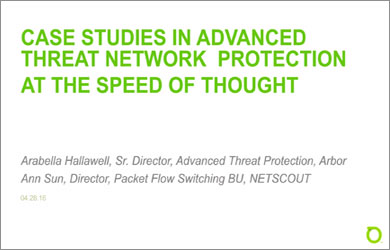 Case Studies in Advanced Threat Network Protection