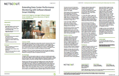 Extending Data Center Performance Monitoring with Software-Based Smart Visibility