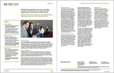 U.S.-based, Multi-national Hospitality Assures Quality Application Services in the Cloud