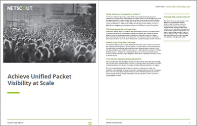 White Paper: Achieve Unified Packet Visibility at Scale