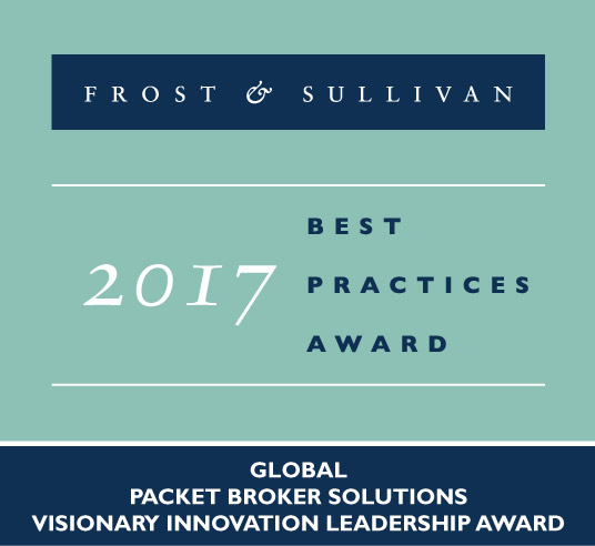 NETSCOUT Wins Critical Acclaim for Latest Breakthrough in Packet Broker Technology