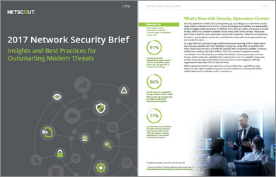 SANS 2017 Network Security Brief