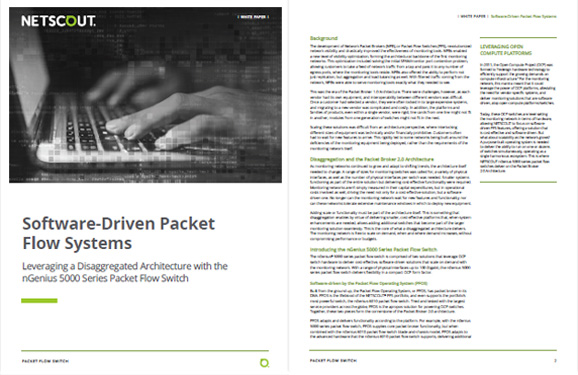 Software-Driven Packet Broker Architecture
