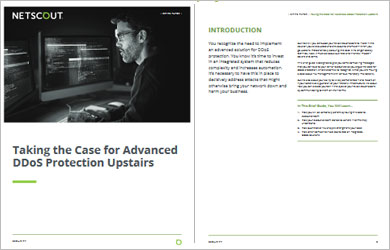 Taking the Case for Advanced DDoS Protection Upstairs