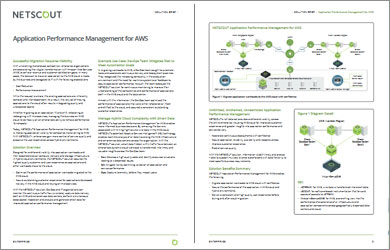 Application Performance Management for Aws Solution Brief
