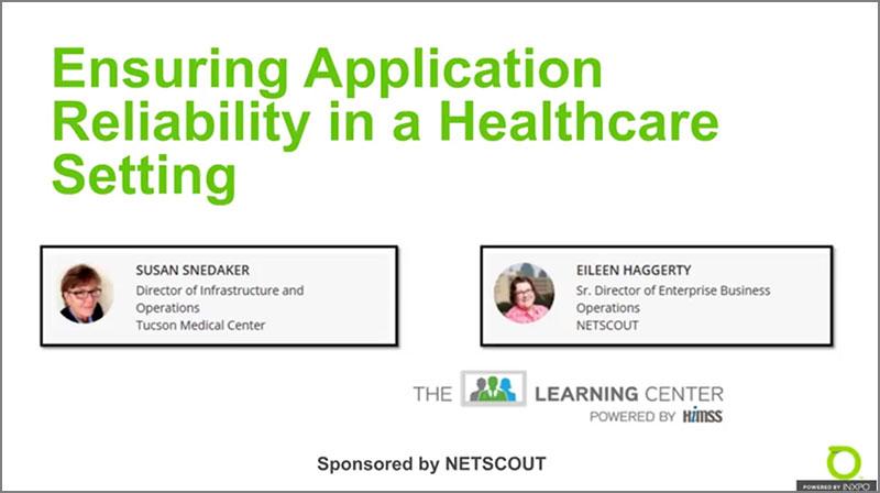 Garantir a confiabilidade do aplicativo em um ambiente de saúde