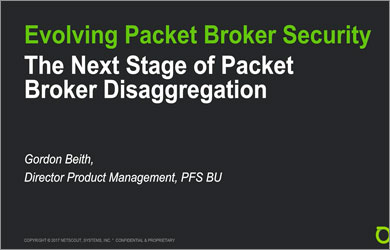 Active Security Visibility with Disaggregated Software-Driven Packet Brokers