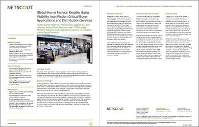 Global Home Fashion Retailer Assures Performance of Buyer Services