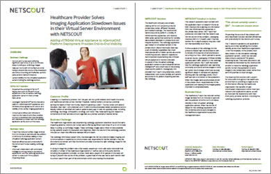 Healthcare Provider Solves Imaging Application Slowdown Issues in their Virtual Server Environment