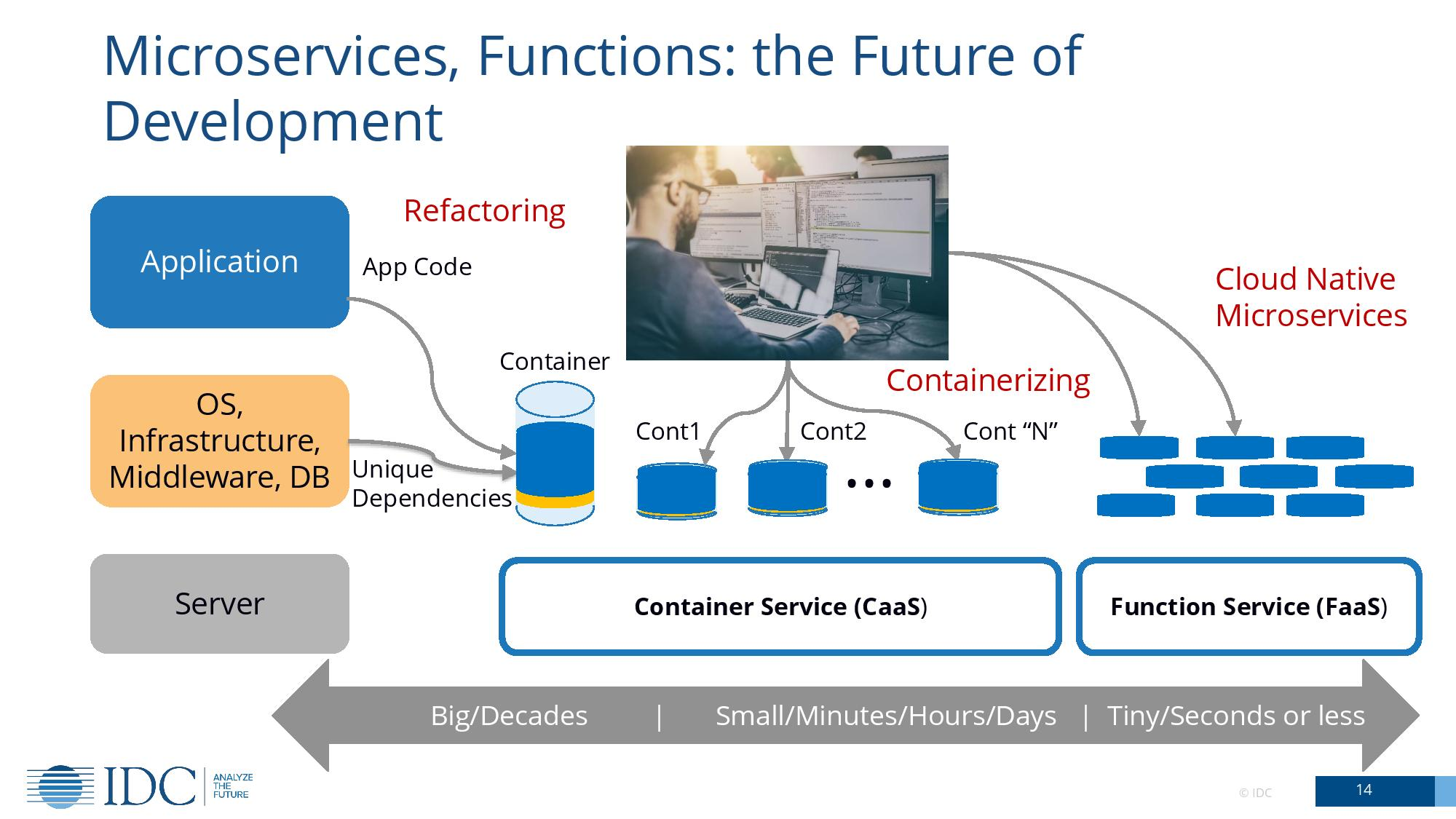 IDC: microservices, function