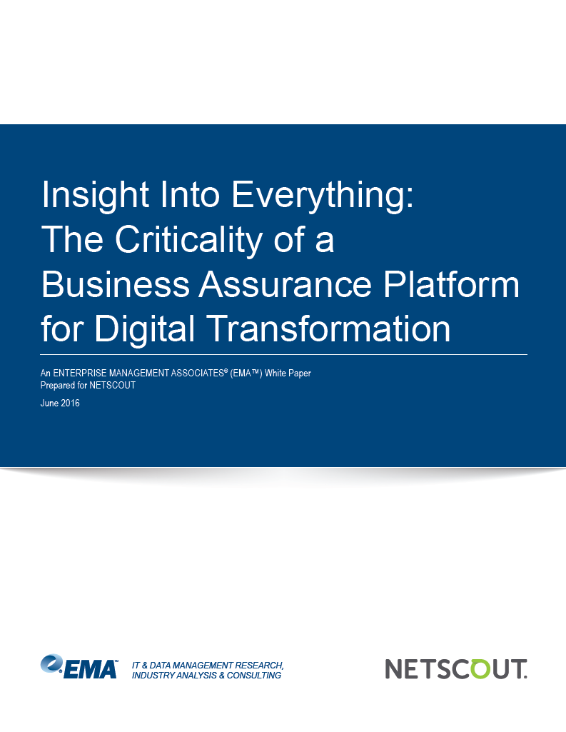 EMA Research Digital Transformation Whitepaper