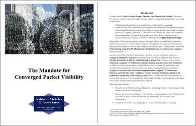 Converged Packet Visibility White Paper
