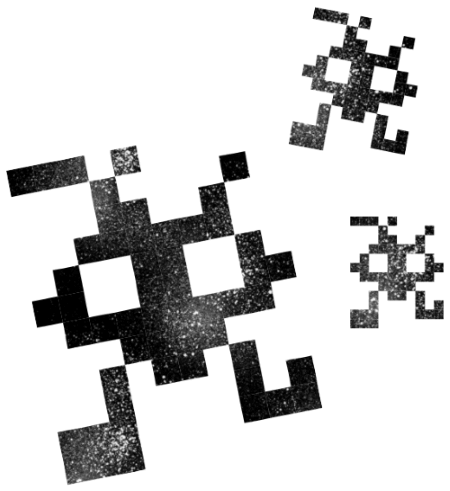 A mirai computer virus image.