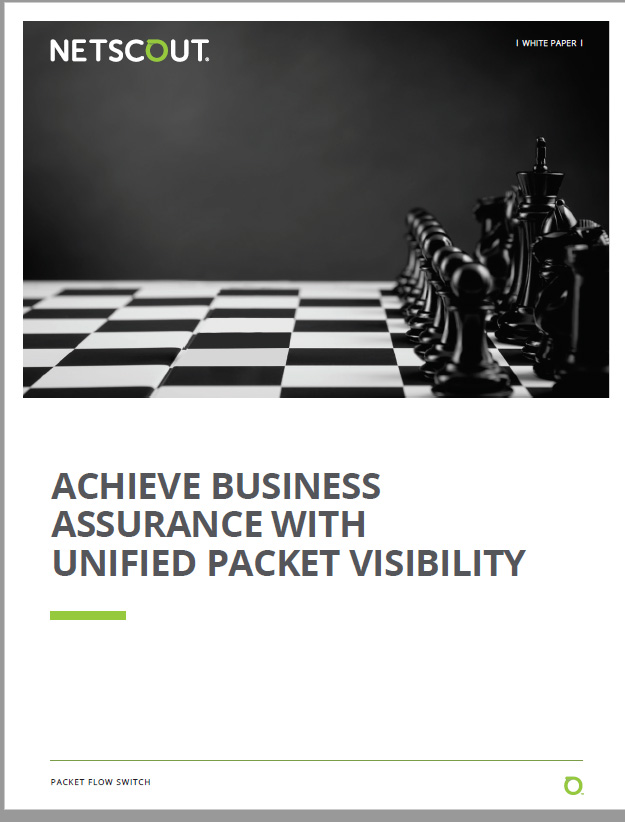 White paper: A strategic approach to visibility with a unified packet plane