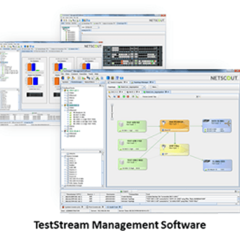 TestStream management software