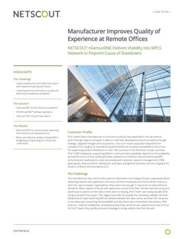 Fabricante melhora a qualidade da experiência em escritórios remotos