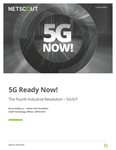 5G Ready Now! The Fourth Industrial Revolution - 5G/IoT