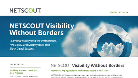 NETSCOUT Company overview