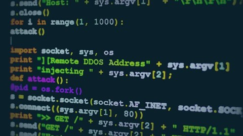 DDoS Script for attack detection